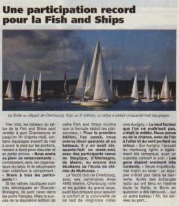 Article de la Presse de la Manche, 17 septembre 2012