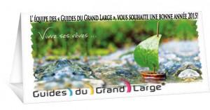L'équipe des Guides du Grand Large vous souhaite une joyeuse année 2015