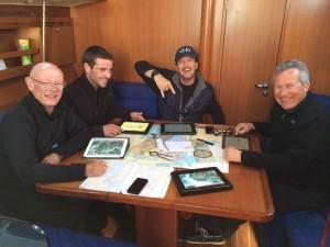 À bord du Dufour 40 des Guides au départ de la Trinité sur Mer