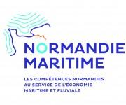 Logo Normandie Maritime fond blanc